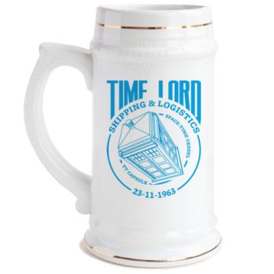 Пивная кружка Time Lord