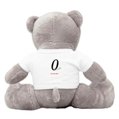 Плюшевый мишка Тедди Кто я без тебя...