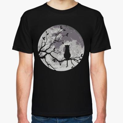 Футболка Луна и Кот