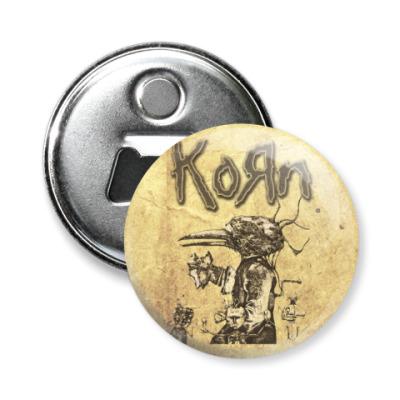 Магнит-открывашка Korn