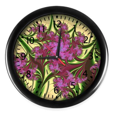 Настенные часы Цветы