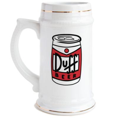Пивная кружка Duff  can