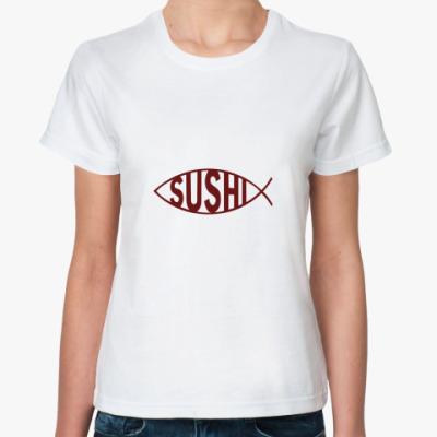 Классическая футболка Sushi