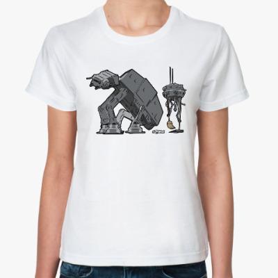 Классическая футболка Шагоход AT-AT (Звёздные войны)