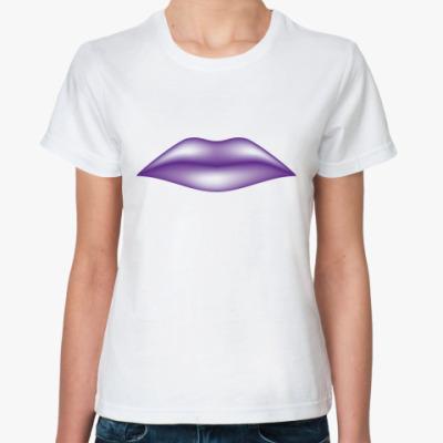 Классическая футболка Губы