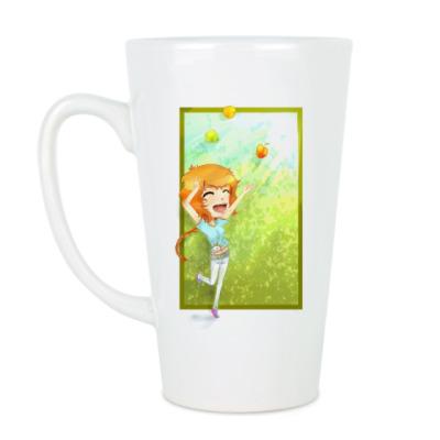 Чашка Латте радость