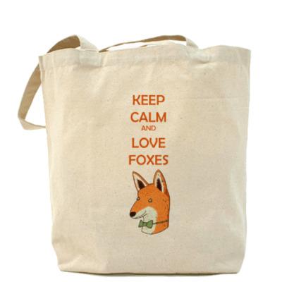 Сумка Любовь к лисичкам