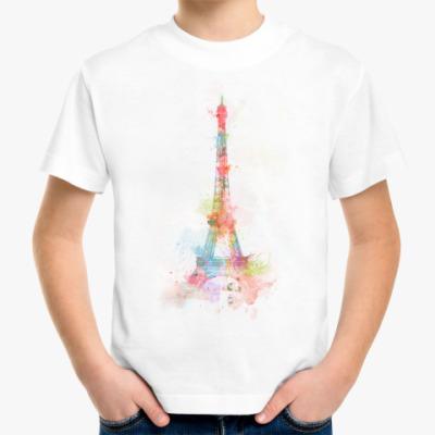 Детская футболка Детская футболка Paris