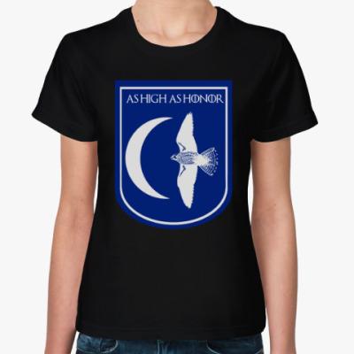 Женская футболка Дом арренов