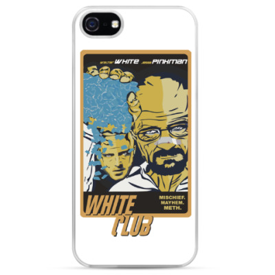 Чехол для iPhone Breaking Bad - Fight Club