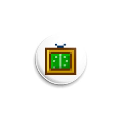 Значок 25мм  ICQ Статус #7