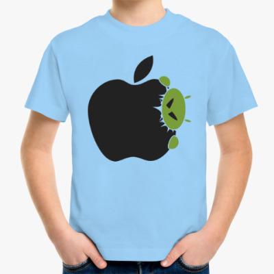 Детская футболка Голодный андроид
