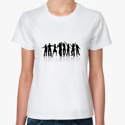 Классическая футболка Танцующие люди