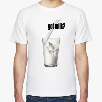Футболка  'Got milk?'
