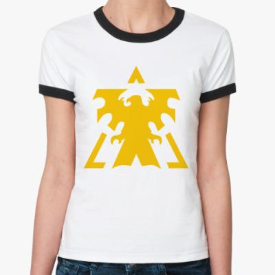 Женская футболка Ringer-T Terran