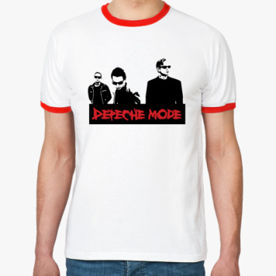 Футболка Ringer-T Depeche mode