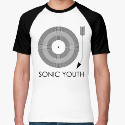 Футболка реглан Sonic Youth