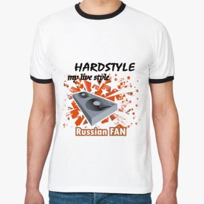 Футболка Ringer-T Hardstyle Fan 2