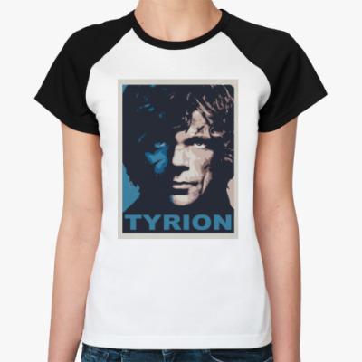 Женская футболка реглан Тирион