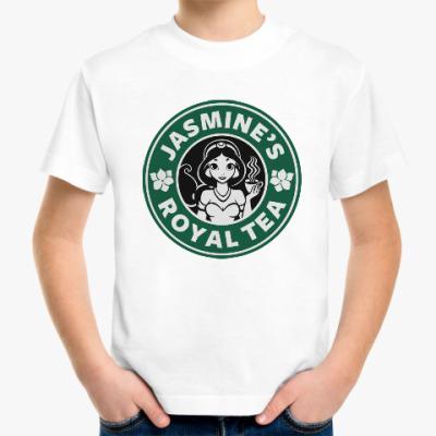 Детская футболка Жасминовый чай