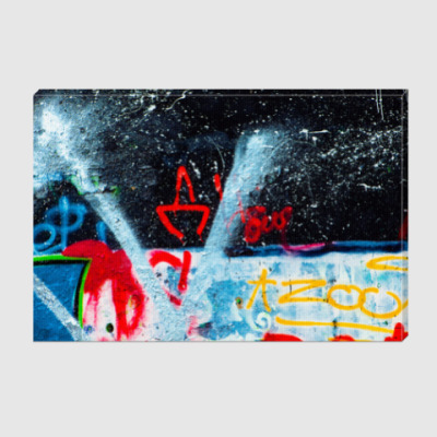 Холст Graffiti boom