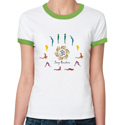 Женская футболка Ringer-T Ом