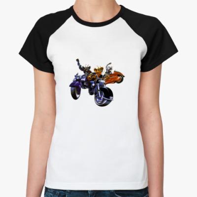Женская футболка реглан MARS2(ж)