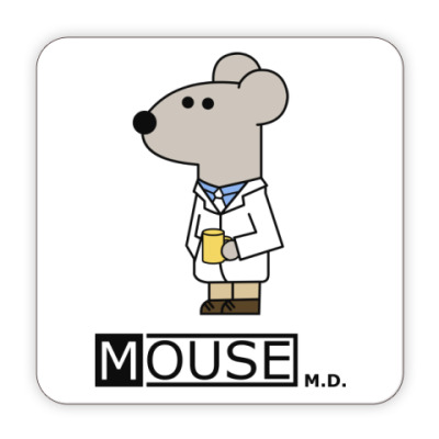 Костер (подставка под кружку) Mouse M.D.