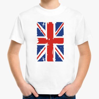Детская футболка Британский флаг