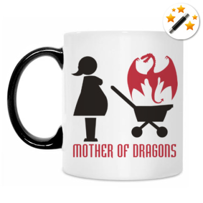 Кружка-хамелеон Мать драконов