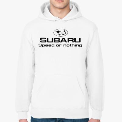 Толстовка худи 'Subaru Speed or nothing'