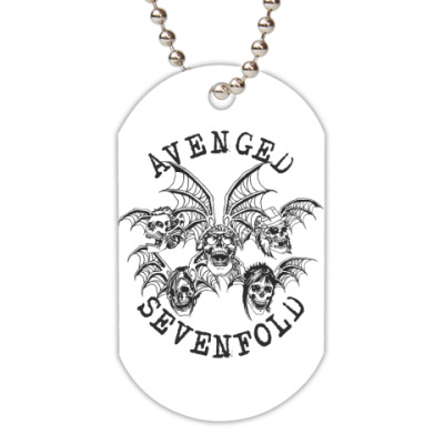 Жетон dog-tag  Avenged Sevenfold