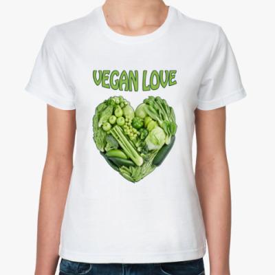 Классическая футболка Вегетарианцы рулят!