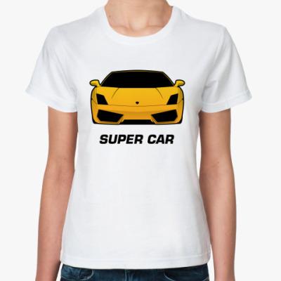 Классическая футболка Super car