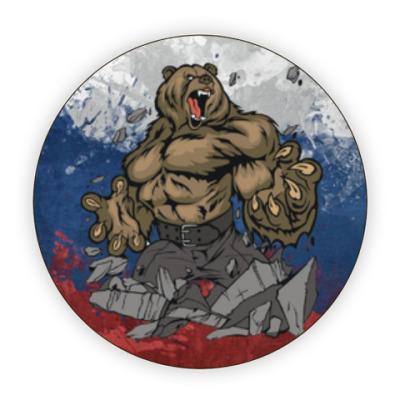 Костер (подставка под кружку) 'Russian bear'