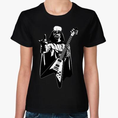 Женская футболка Darth Metal