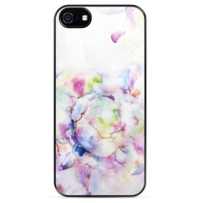 Чехол для iPhone Распускающаяся роза