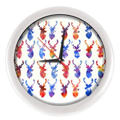 Настенные часы Олени