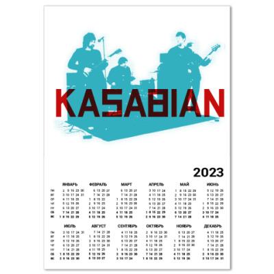 Календарь Kasabian