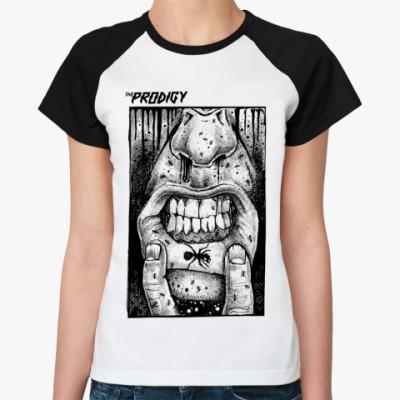 Женская футболка реглан   The Prodigy