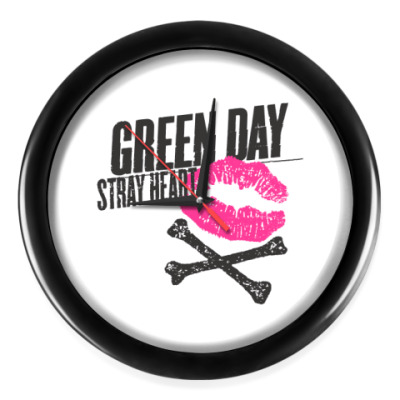 Настенные часы Green Day