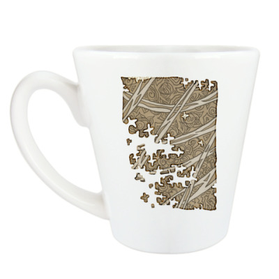 Чашка Латте Дезинтеграция
