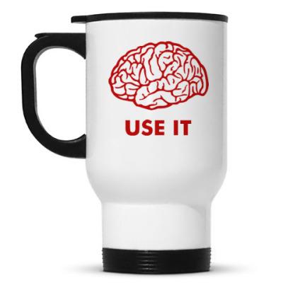 Кружка-термос Мозг