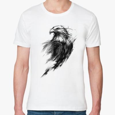 Футболка из органик-хлопка Орёл