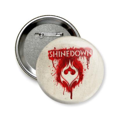 Значок 58мм Shinedown