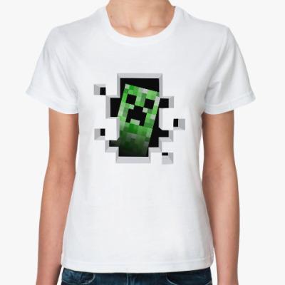 Классическая футболка Creeper