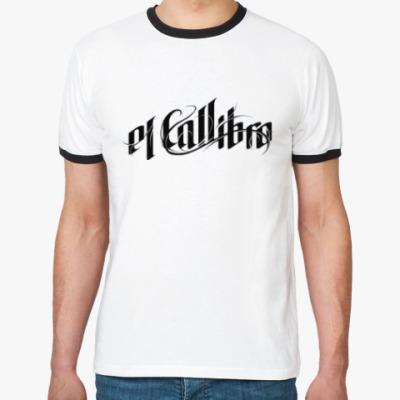 Футболка Ringer-T Хип-хоп el Callibro