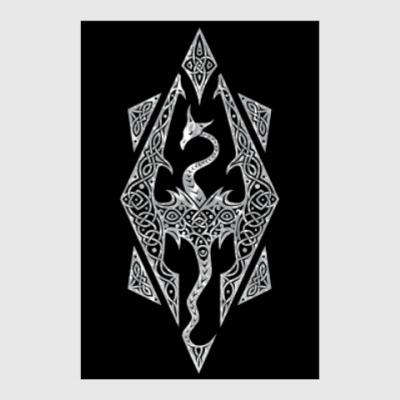 Постер The Elder Scrolls V Skyrim