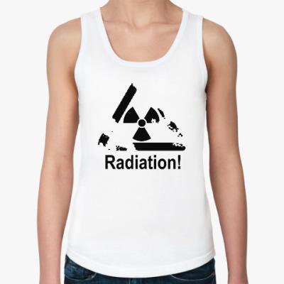 Женская майка Radiation - Радиация