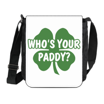 Сумка на плечо (мини-планшет) Who's your paddy